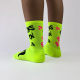 Fluo Socks on Yellow