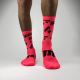Fluo Socks on Red